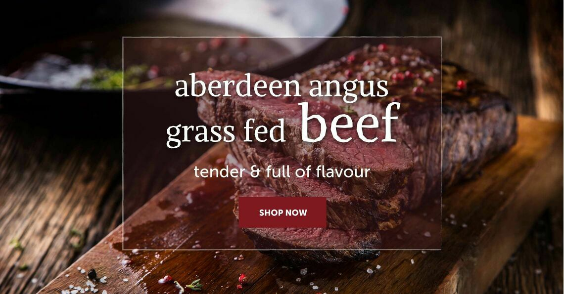Aberdeen Angus Grass Fed Beef