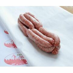 Handmade Pork Chipolatas x 12