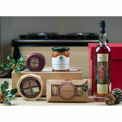After Dinner Cheese, Biscuits & Brandy Hamper
