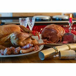 Free Range Turkey & Christmas Meat Hamper