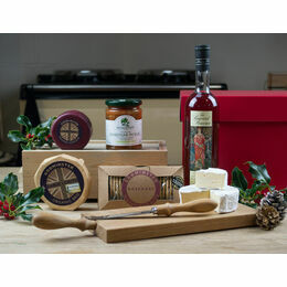 After Dinner Cheese Board & Brandy Hamper