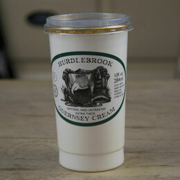 Natural & Untreated Extra Thick Guernsey Cream (284ml)                    ONLY AVAILABLE FOR ORDERS SENT ON THURSDAYS