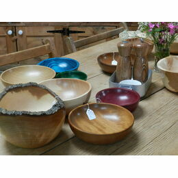 Lucky Turn Hand-Turned Wooden Bowls
