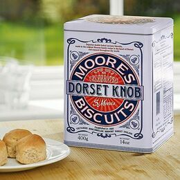 Moores Dorset Knobs Tin