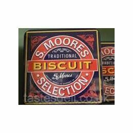 Moores Moores Traditional Biscuit Tin