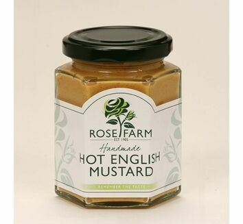 Rose Farm Hot English Mustard