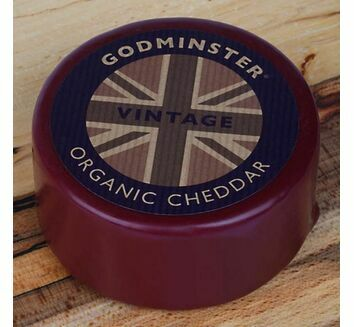 Godminster Organic Cheddar Truckle 400g Use by dates October 2020