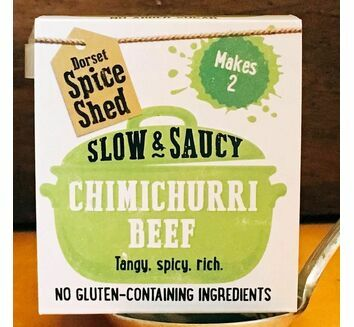 Dorset Spice Shed Slow & Saucy Chimichurri Beef Seasoning