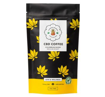 Cheerful Buddha CBD Infused Coffee (100g)
