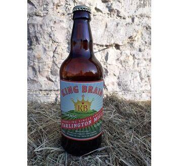 King Brain Organic Yarlington Mill Cider 6.5% ABV (500ml)