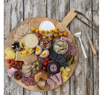 Cheese & Biscuits Grazing Board