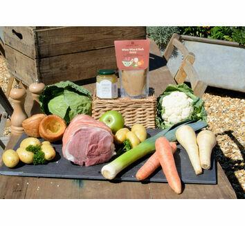 'Roast With The Most' Leg of Pork Roast Dinner & Wine Box