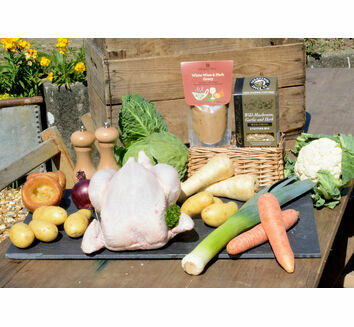 'Roast With The Most' Free Range Chicken Roast Dinner & Wine Box