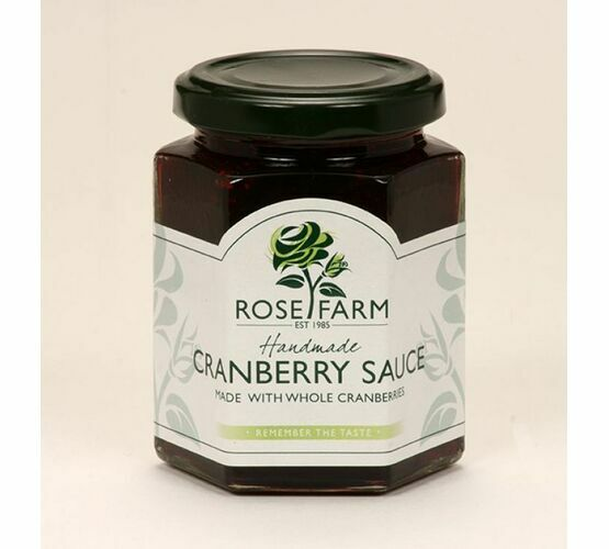 Rose Farm Cranberry Sauce