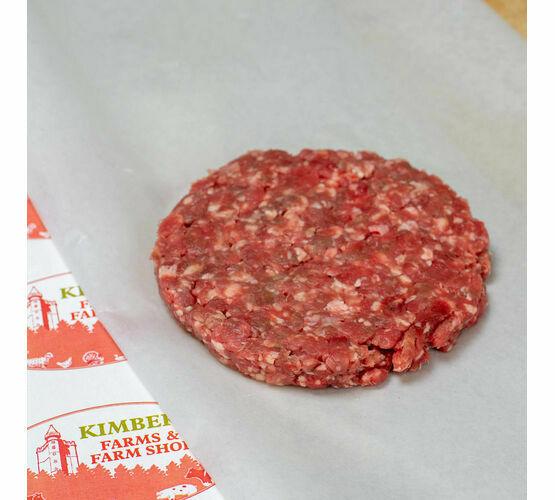 Handmade Beef Burger x 4