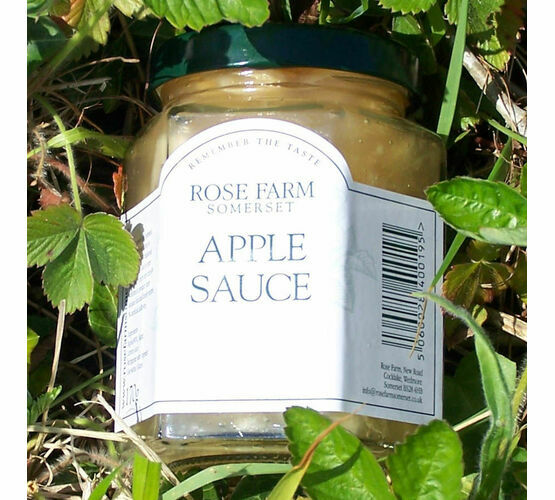 Rose Farm Apple Sauce