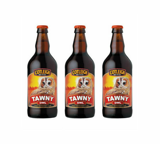 Cotleigh Brewery Tawny Owl Bitter (ABV 3.8%)