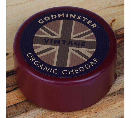 Godminster Vintage Organic Cheddar Truckle (400g)