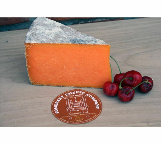 Somerset Cheese Co Pennard Ridge Red Goats Cheese 200g