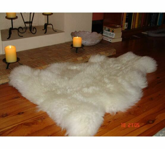 Kimbers White Sheepskin