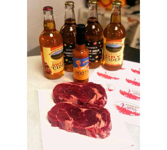 Steak, Booze & Hot Sauce Hamper