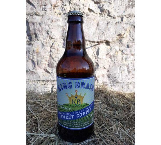 King Brain Organic Sweet Coppin Cider 6.5% ABV (500ml)