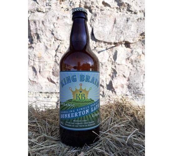 King Brain Organic Dunkerton Late Cider 6.5% ABV (500ml)